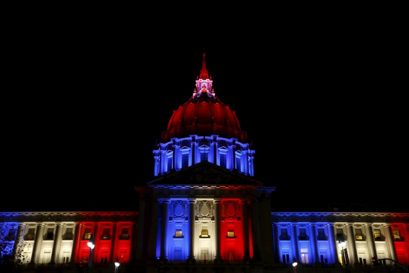 american solidarity with france