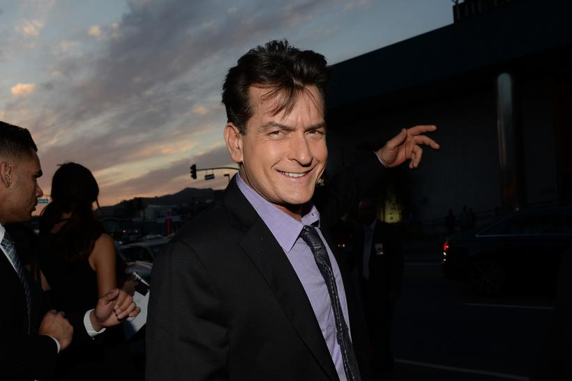 Charlie Sheen celebs support hiv