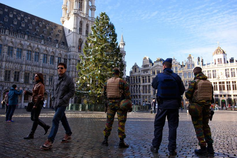 Christmas tree in Brussels