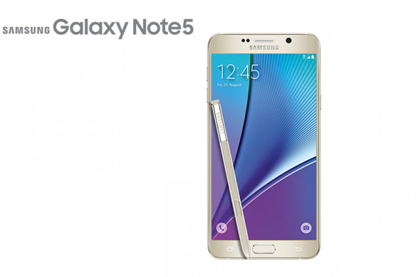 Samsung Galaxy Note 5 - Gold