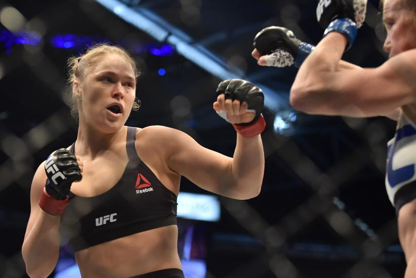 Ronda Rousey Holly Holm update