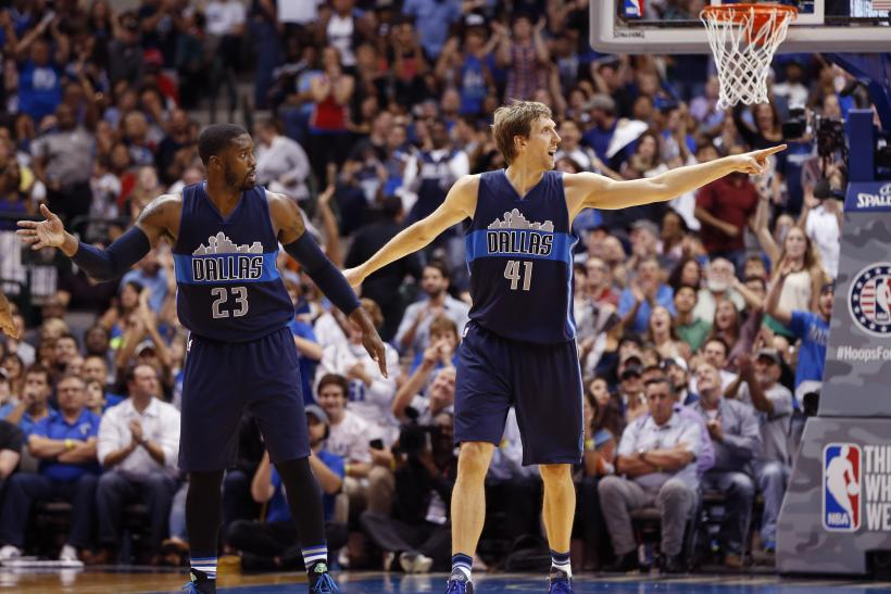 Matthews and Nowitzki