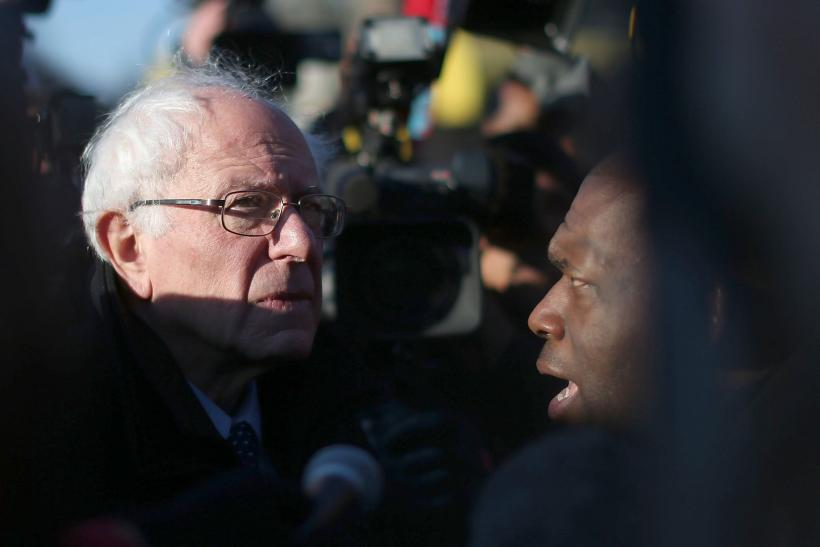 sanders in baltimore