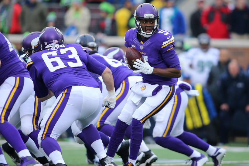 Teddy Bridgewater Vikings 2015