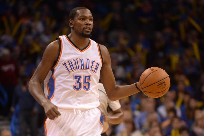the latest c7d9b e5ec7 KD s Triple-Double Helps Thunder Get Easy Win Over Hawks
