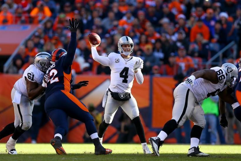 Derek Carr Raiders 2015
