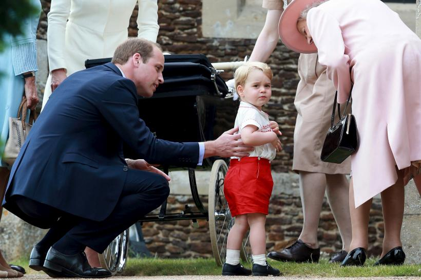 Prince George shares an adorable relationship with his great grandmother Queen Elizabeth