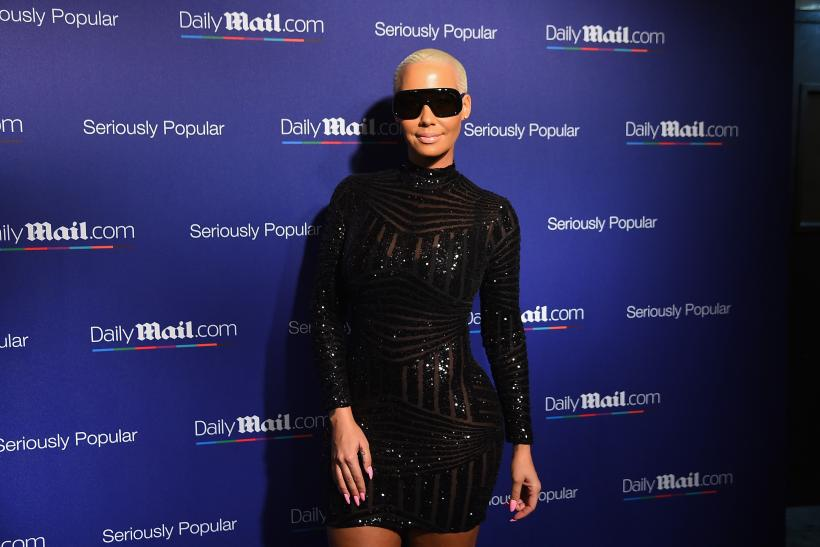 Amber Rose butt pad rumors