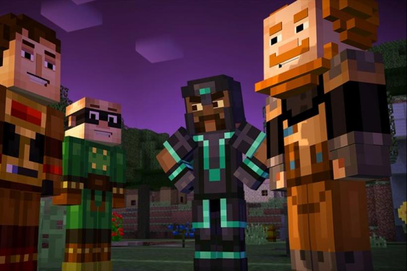 'Minecraft Story Mode' Launches On Windows 10 With Support For PC And Mobile Play
