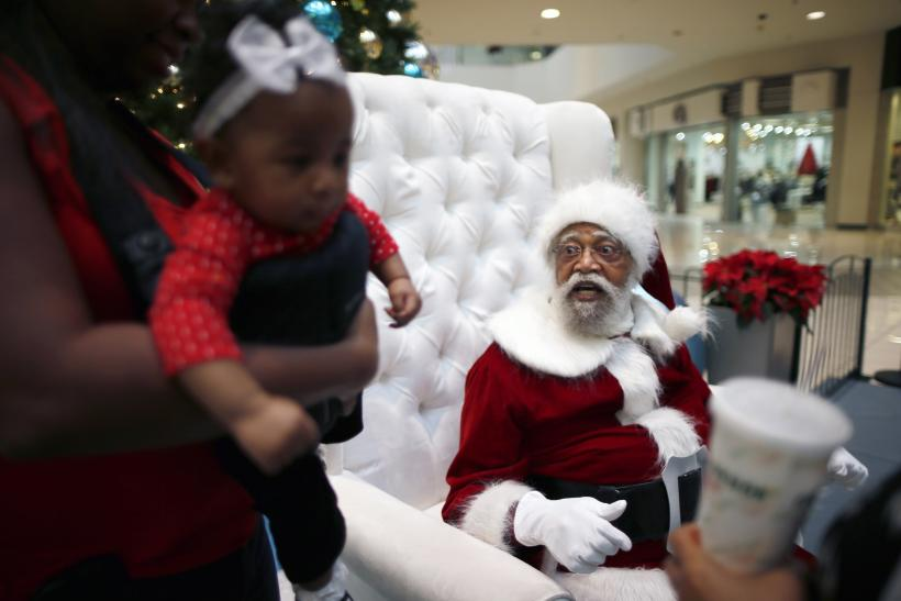 Finding Black Santa Claus For Christmas Minority Families