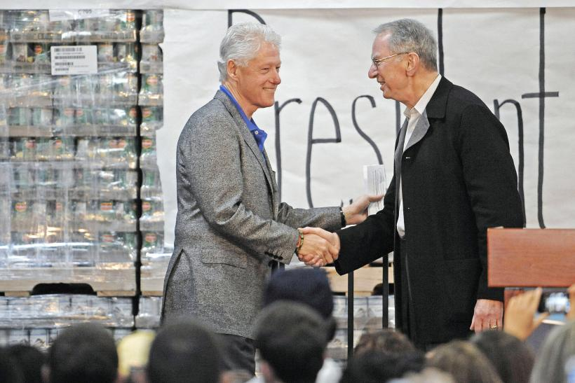 Jacobs and Clinton