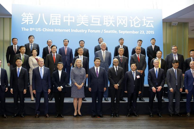 Xi and CEOs