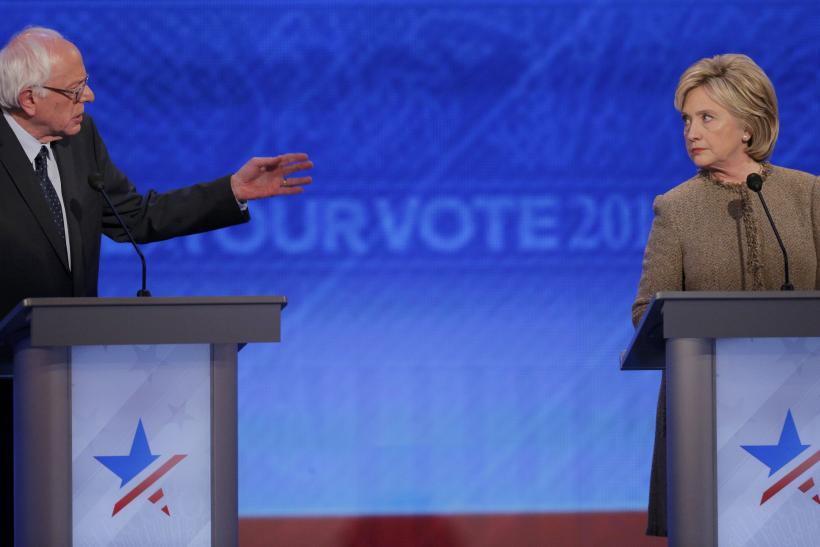 Sanders + Clinton at 12/19 debate