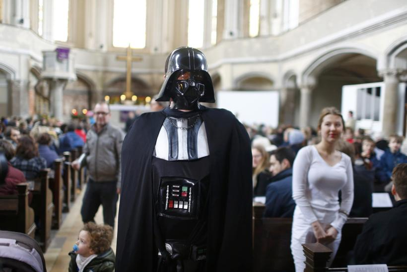 Star Wars at Zion Church, Berlin, Dec. 20, 2015
