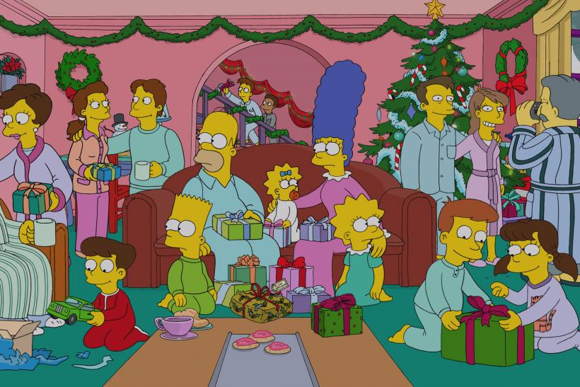 The Simpsons Christmas Episodes.The Simpsons Christmas Episodes Marathon To Air On Fxx