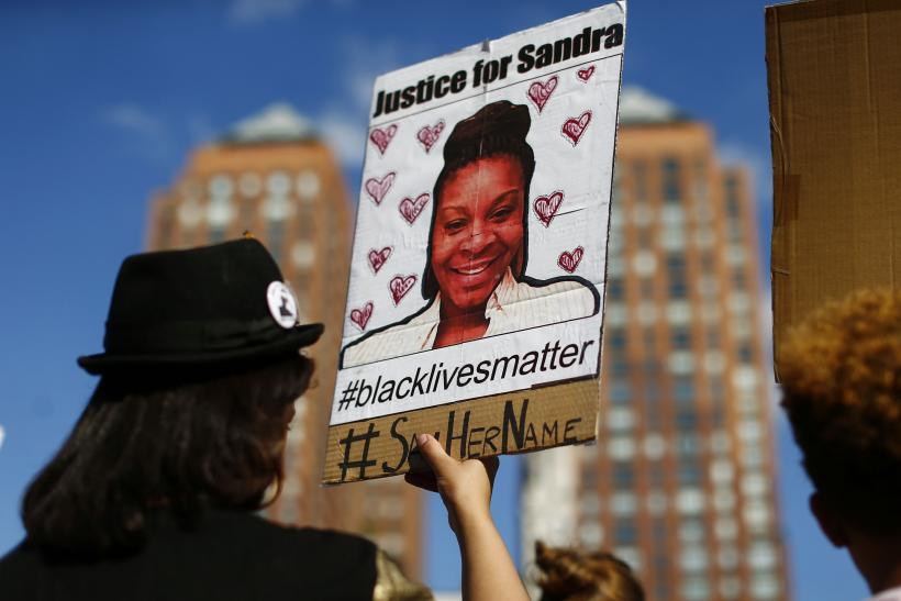sandra bland case protests