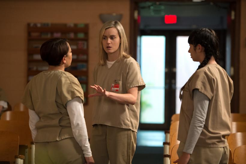 orange is the new black cast share twas the night before christmas video ahead of season 4 netflix release - Black Christmas Cast