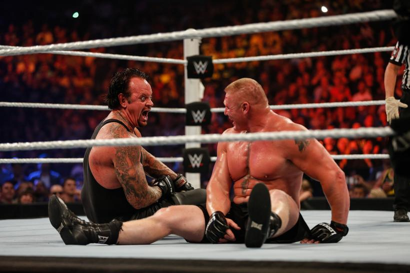 Brock Lesnar Undertaker WWE