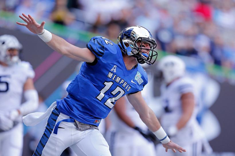 Paxton Lynch, Memphis Tigers