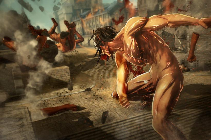 Brand New 'Attack On Titan' Details: 10 Playable ...
