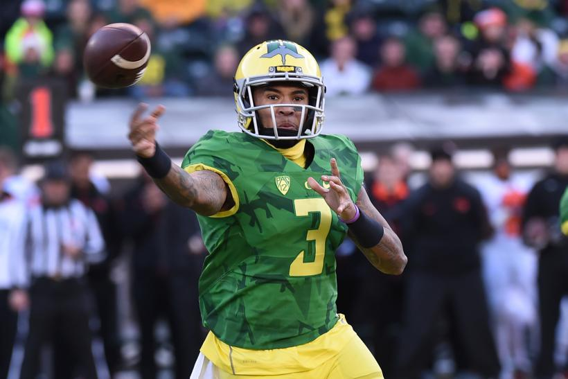 Vernon Adams Jr. Oregon 2015