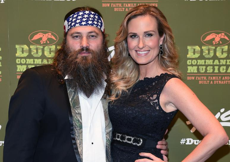 Willie and Korie Robertson adopted son