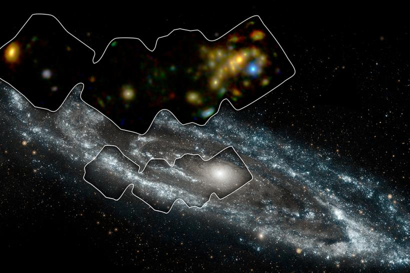 Andromeda Galaxy X-Ray