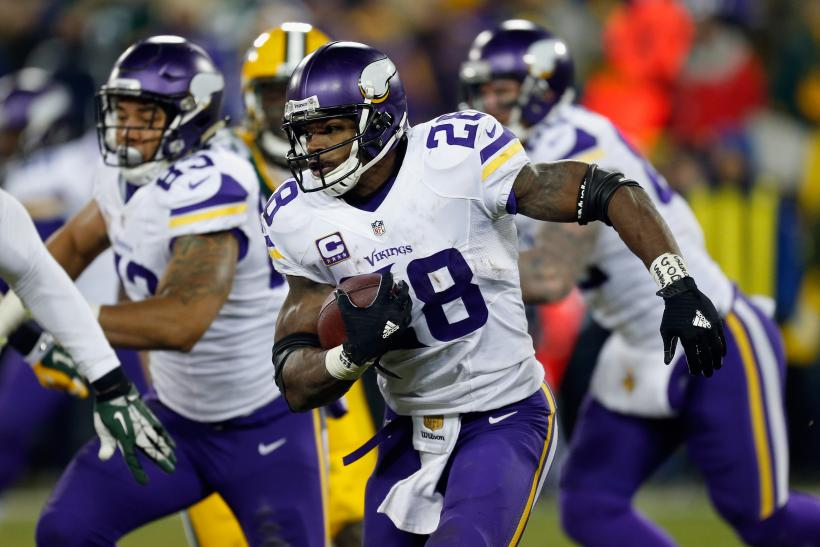 Adrian Peterson Vikings 2015