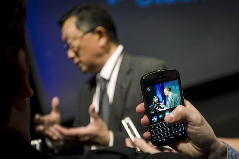 BlackBerry Ltd. CEO John Chen, June 23, 2015