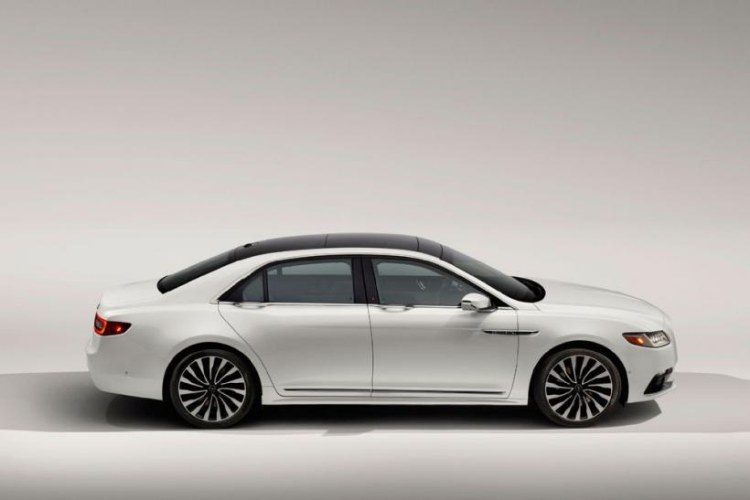 Detroit Auto Show 2016 New 2017 Lincoln Continental Is The First Global With China In Its Sights