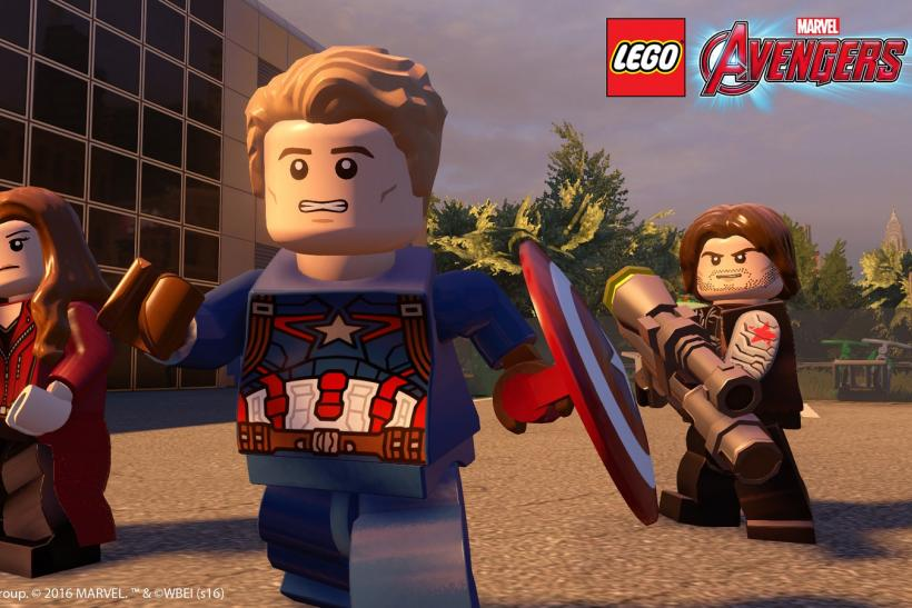 Lego Avengers civil war dlc