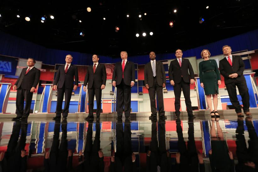 republican presidential debate start