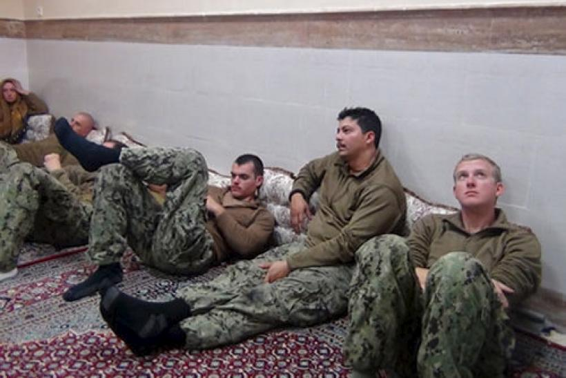 US sailors in Iranian custody.