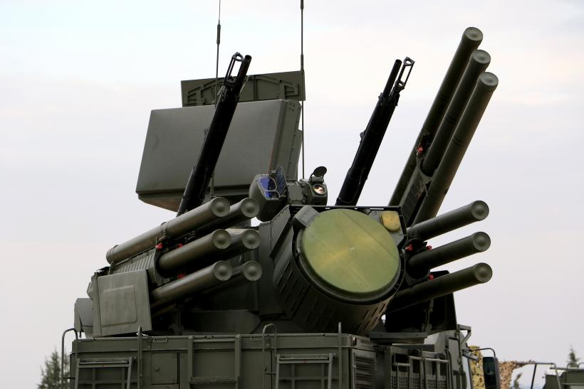 Russian Pantsir-S1 anti-aircraft defence system