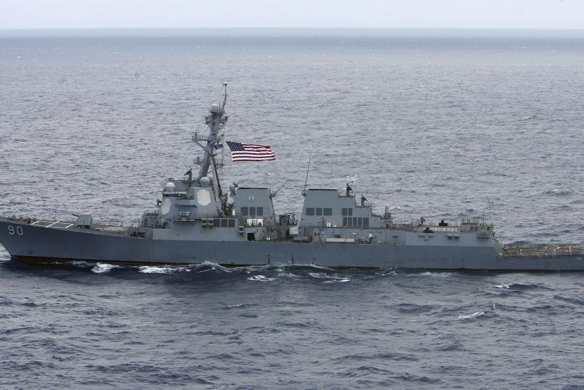The Navy's first 100 percent biofuel ship sails in the Pacific.