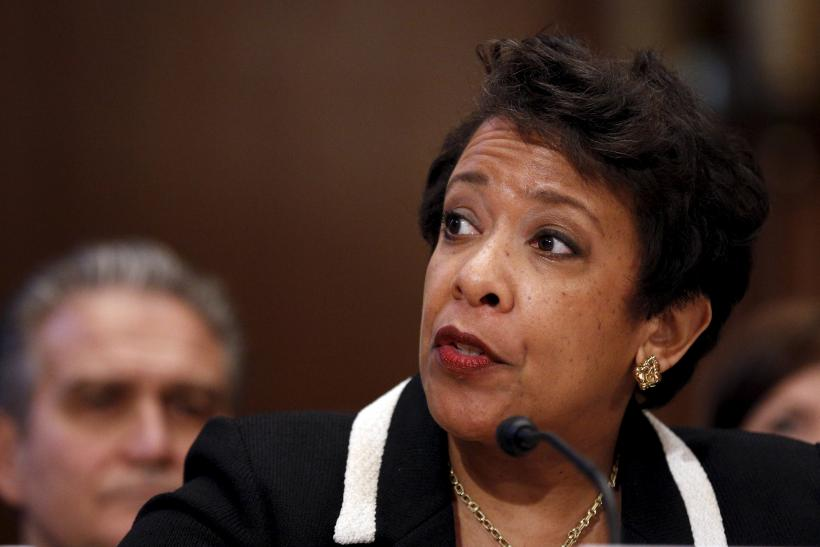 US AG Loretta Lynch testifies