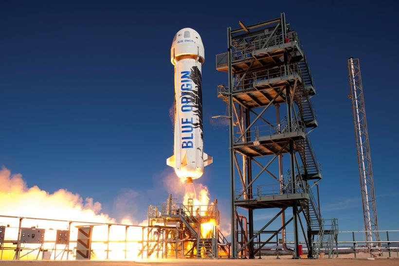 Blue Origin beats SpaceX to re-launching a reusable rocket