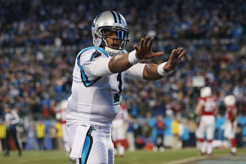Cam Newton Carolina Panthers 2015