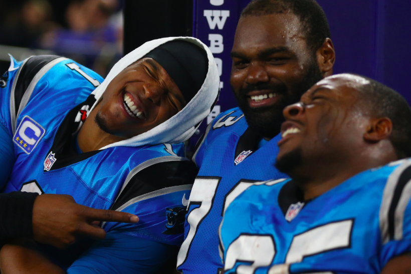 Carolina Panthers Michael Oher Annoyed With 'Blind Side' Questions ...