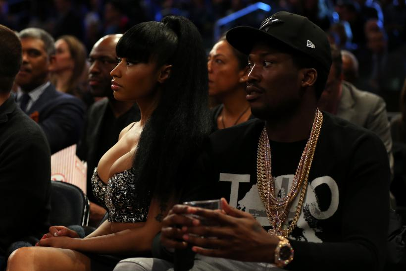 Meek Mill Nicki Minaj instagram photo son