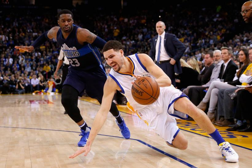 Klay Thompson Warriors 2015