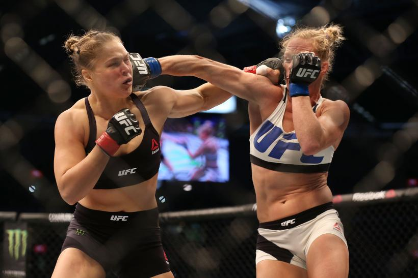 Ronda Rousey Holly Holm 2015