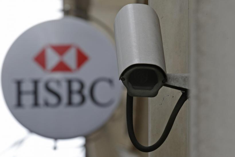 HSBC Logo, Paris, June 15, 2015