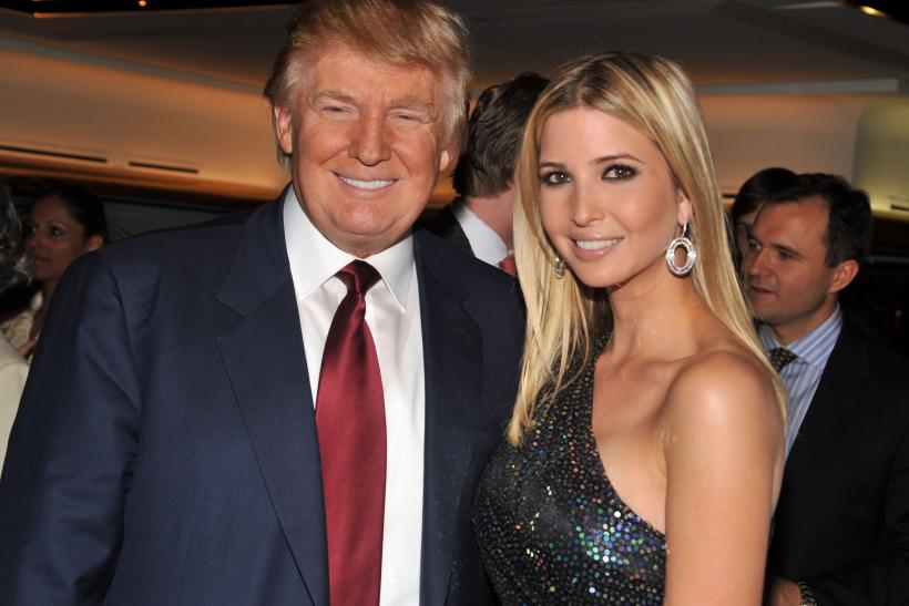 Donald Ivanka Trump new photo