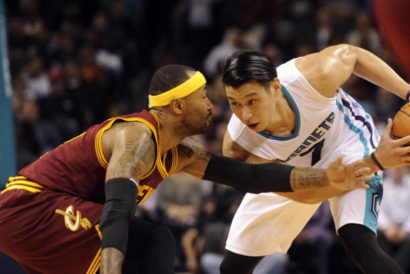 hot sale online 0a86f 87785 Jeremy Lin Scores 24 In Hornets' Comeback Win Over LeBron ...