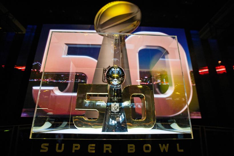 Super Bowl 50 trophy