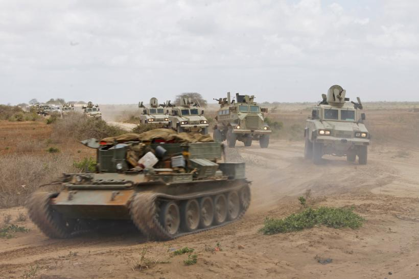 African Union near Merca, Somalia
