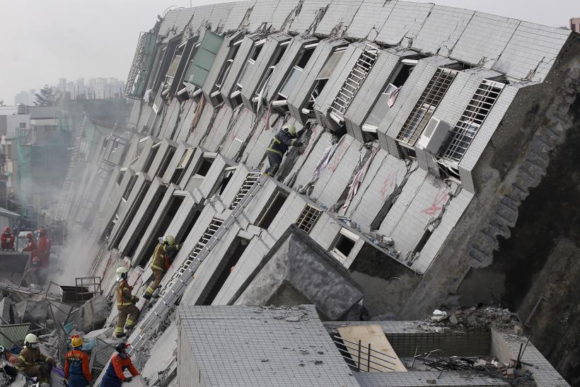 Taiwan Earthquake: High-Rise Building Collapse Reveals Possible Construction Issues