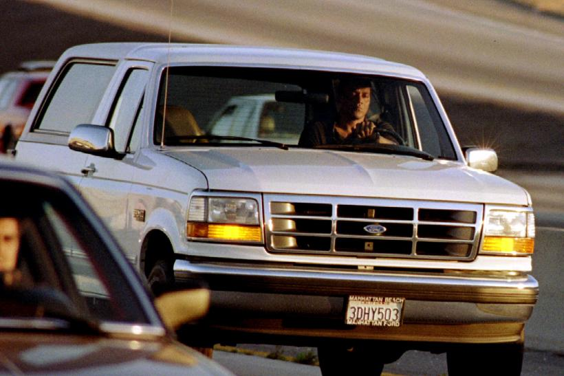 O.J. Simpson White Ford Bronco Chase