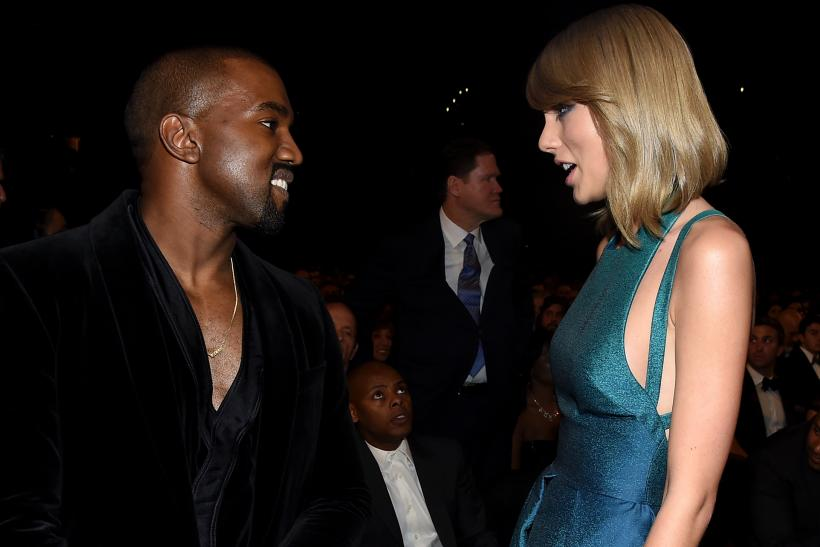 Taylor Swift Kanye West Famous song feud